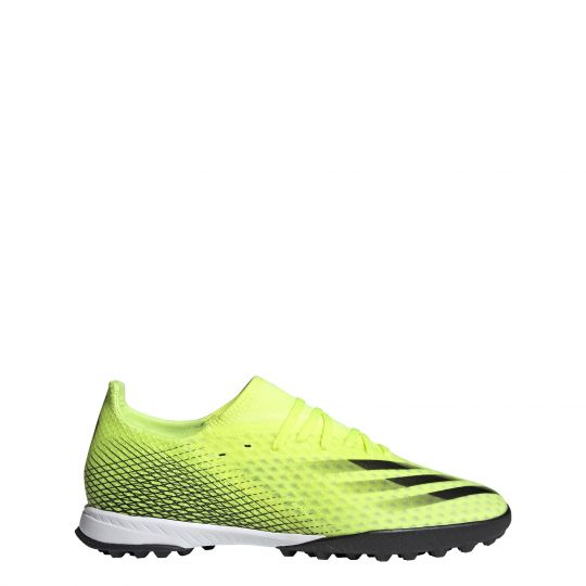 adidas X Ghosted.3 Turf Voetbalschoenen (TF) Geel Wit