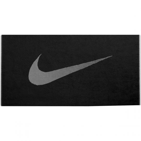 Nike Sport Handdoek Zwart grijs