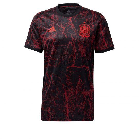adidas Spanje Trainingsshirt 2020-2022 Zwart Rood