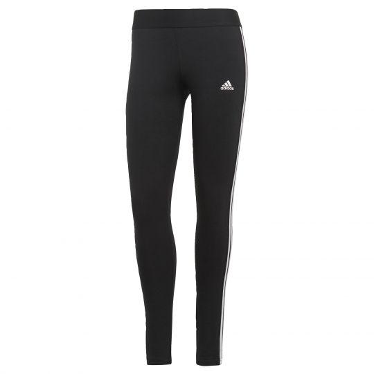 adidas LOUNGEWEAR Essentials 3-Stripes Legging Zwart Wit