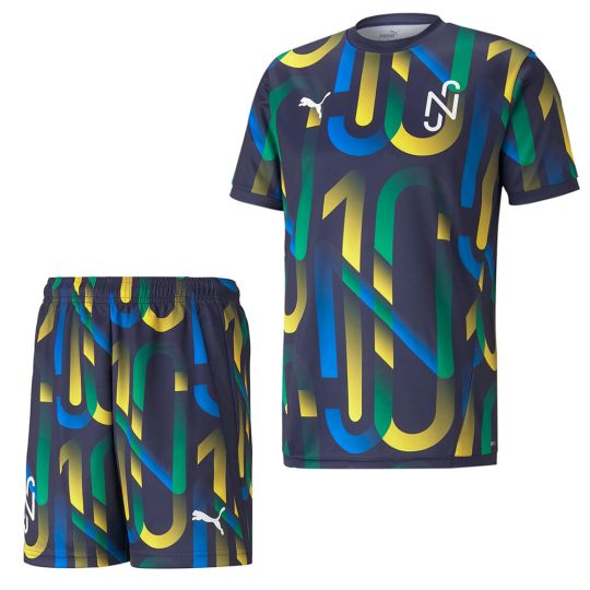 PUMA Neymar Jr Hero Trainingsset Kids Blauw Geel Groen