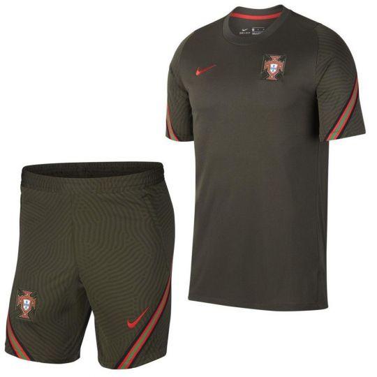 Nike Portugal Strike Trainingsset 2020-2022 Donkergroen