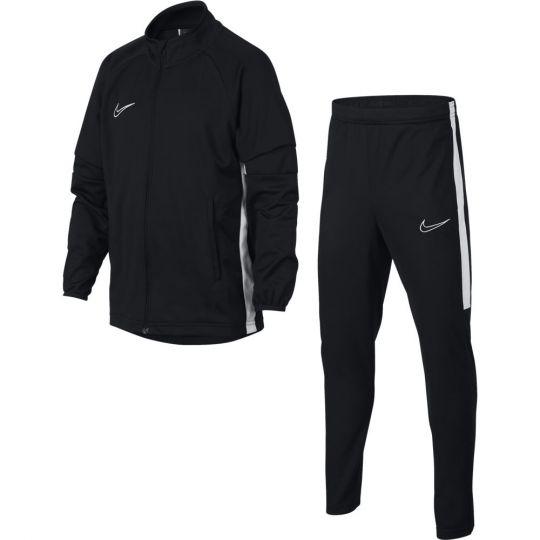 Nike Dry Academy Trainingspak K2 Kids Zwart Wit