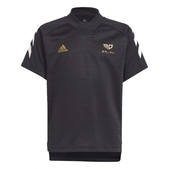 adidas Salah Football-Inspired Shirt Kids Zwart
