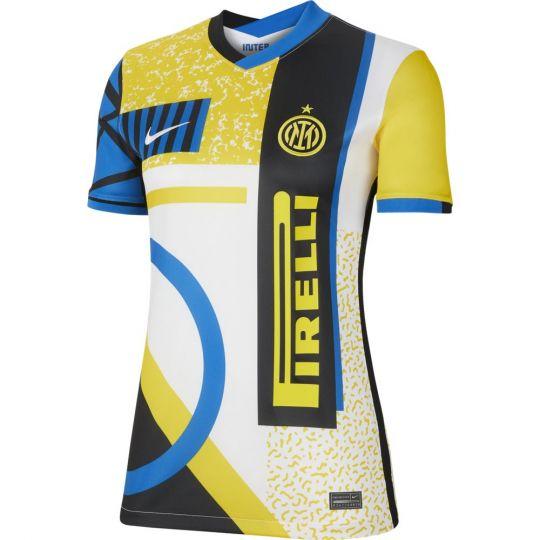 Nike Inter Milan 4th Voetbalshirt 2020-2021 Dames