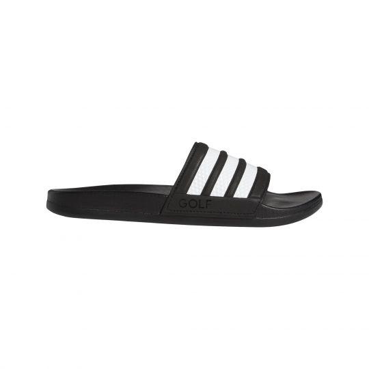adidas Adilette Comfort Slippers Zwart Wit