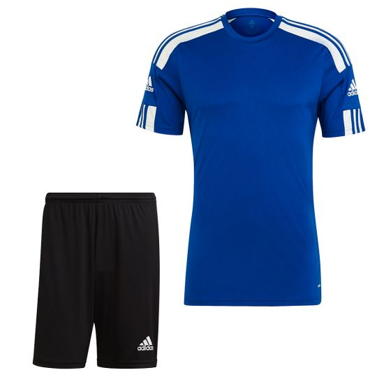 adidas Squadra 21 Trainingsset Blauw Zwart