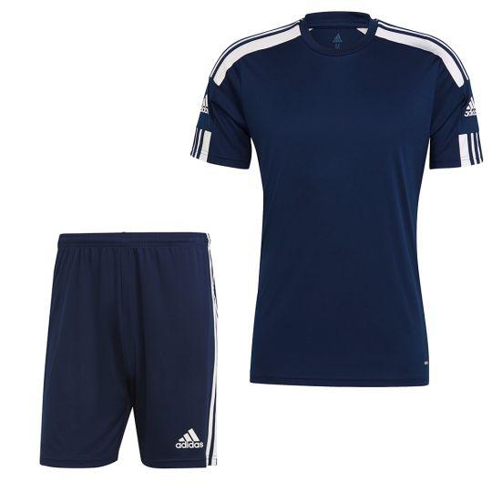 adidas Squadra 21 Trainingsset Donkerblauw