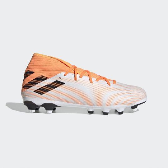adidas Nemeziz.3 Multi-Ground Voetbalschoenen Wit Oranje