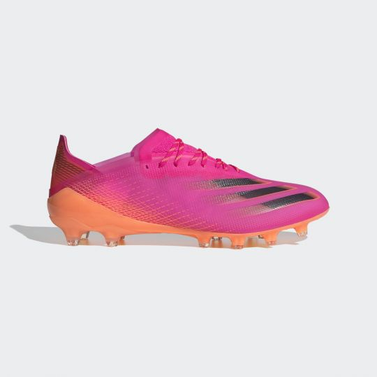 adidas X Ghosted.1 Artificial Grass Voetbalschoenen Roze