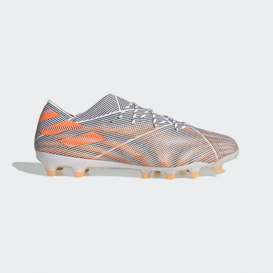 adidas Nemeziz.1 (AG) Voetbalschoenen Grijs Oranje