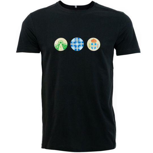 PEC Zwolle Shirt Clublogo's Zwart