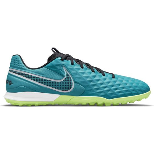 Nike Tiempo Legend 8 Academy Turf Voetbalschoenen (TF) Turquoise Wit Lime