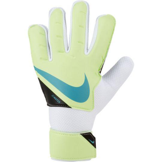 Nike Match Keepershandschoenen Kids Lime Zwart Blauw