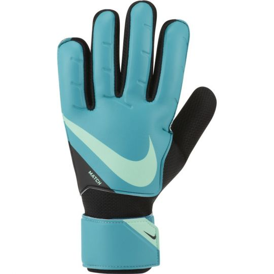 Nike Match Keepershandschoenen Blauw Zwart Lime