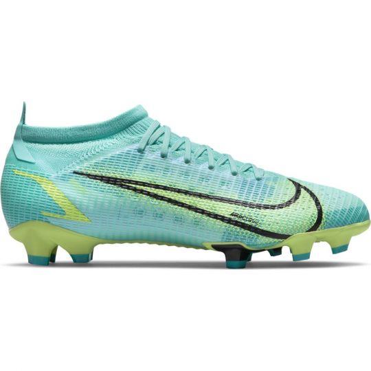 Nike Mercurial Vapor 14 Pro Gras Voetbalschoenen (FG) Turquoise Lime