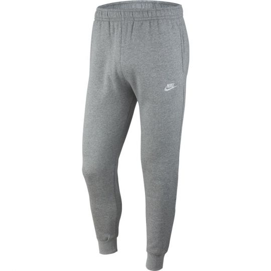 Nike Sportswear Club Fleece Joggingbroek Donkergrijs Zilver Wit