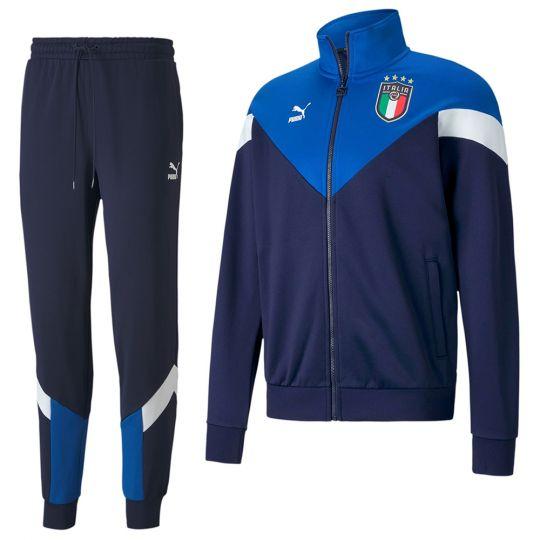 PUMA Italie Iconic MCS Trainingspak 2020-2022 Blauw
