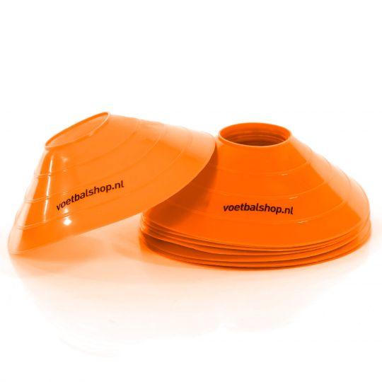 Voetbalshop afbakenbollen 10 stuks Oranje