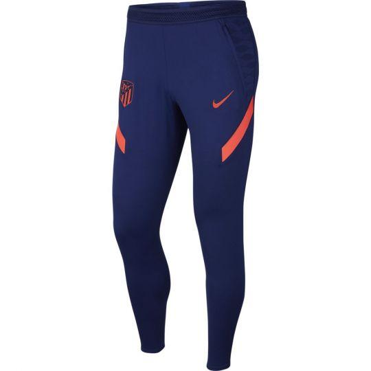Nike Atletico Madrid Strike Trainingsbroek 2021-2022 Donkerblauw Felrood