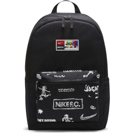 Nike F.C. Rugzak Zwart Wit