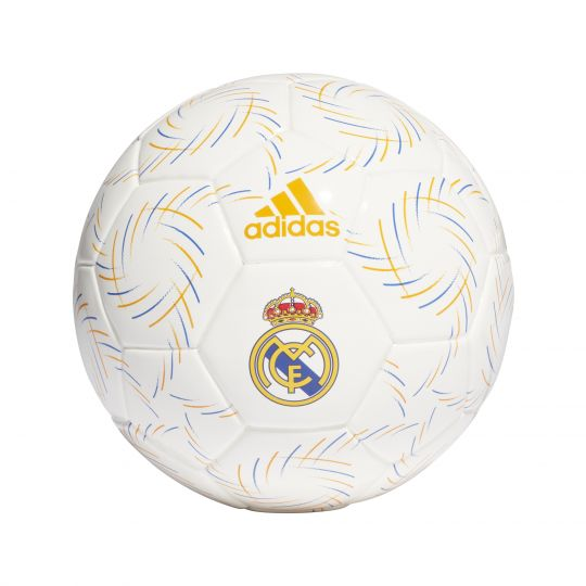 adidas Real Madrid Mini Voetbal Maat 1 Wit Blauw Oranje