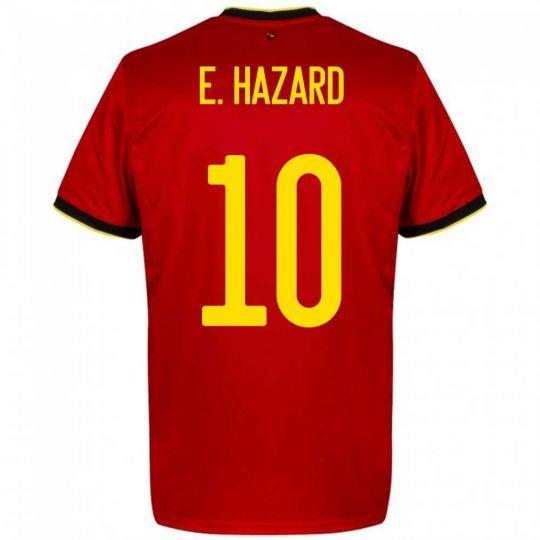 adidas België E. Hazard 10 Thuisshirt 2020-2022